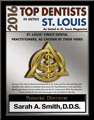 2016 Top Dentist Dr. Sarah Smith